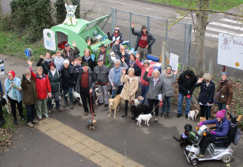 Dogs and their owners want to save Centurion Way